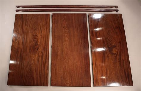 Fine George Iii Cuban Mahogany 2 Pedestal Dining Table Dining Room Table Leaf Replacement