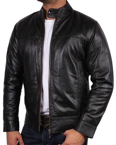 all black motorcycle jacket mens all leather biker jacket vintage look black biker