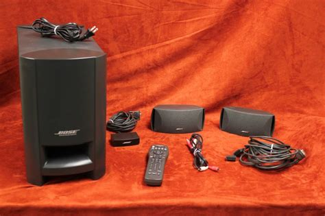 bose cinemate digital home theater speaker system buya