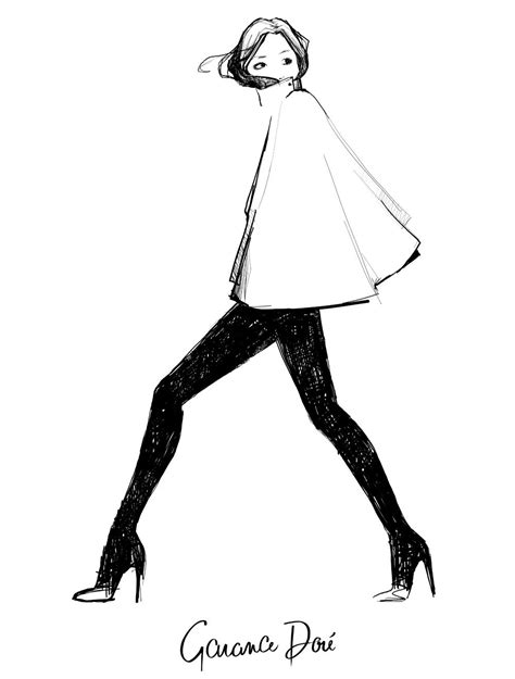 3 Drawing Modes In Illustrator by Garance Dor 233 Fashion Illustration Garance Dor 233 Is