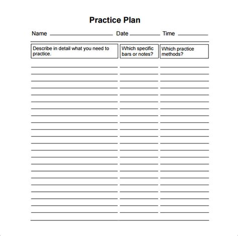 practice plan template basketball practice schedule templates 15 free word excel pdf