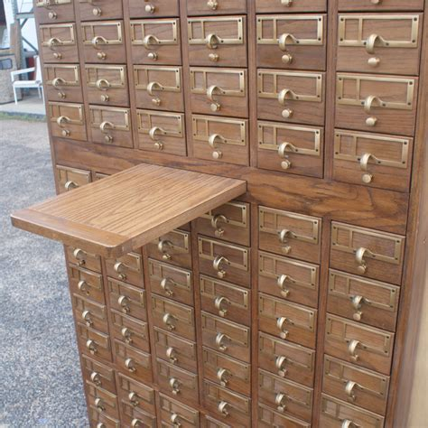 vintage card file cabinet vintage 90 drawer card file cabinet ebay