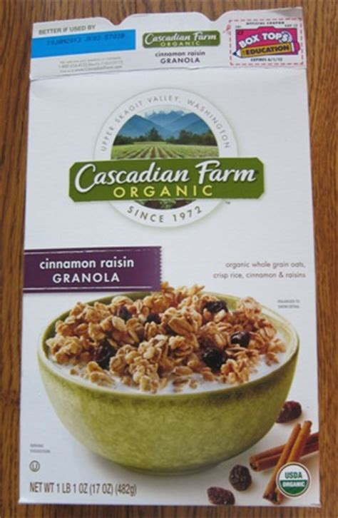 Healthy Granola Mixed A 500 Gram Cranberry Raisin Seed Oat cascadian farm organic cinnamon raisin granola melanie cooks