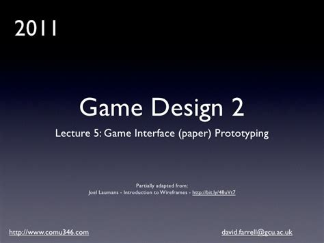 game design essay game design 2 lecture 5 game ui wireframes and paper