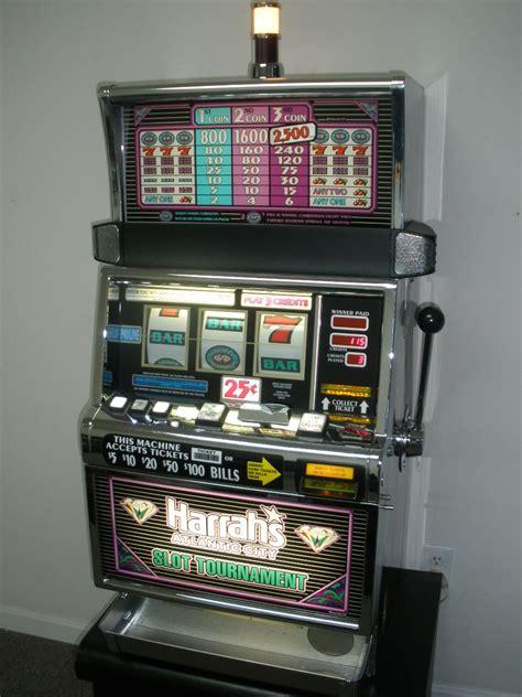 igt double diamond  slot machine  quarter coin handling  coin flat top harrah