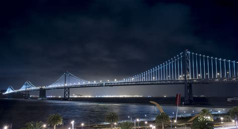 bay bridge light 187 san francisco leo villareal the bay lights at the