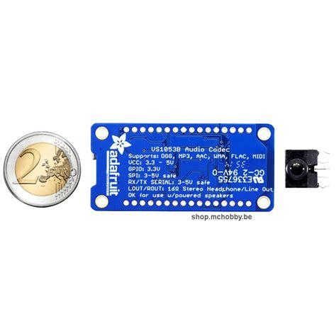 Wav Player Wp3a Tanpa Microsd vs1053 codec microsd format mp3 wav midi ogg enregistrement v4 mchobby vente de