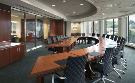 design essentials home office curved boardroom how workspace design affects workflow
