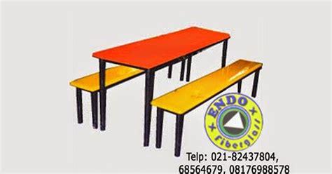 Meja Belajar Fiber jual kursi kantin murah dari fiberglass meja kursi fiber