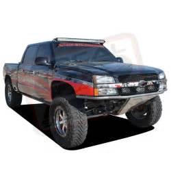 truck led light bar 50 quot rigid led light bar w roof mount brackets 1999 2006