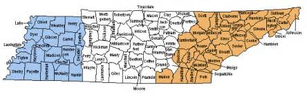 Tennessee Map Counties by Office Of Local Government Tennessee Comptroller Of The
