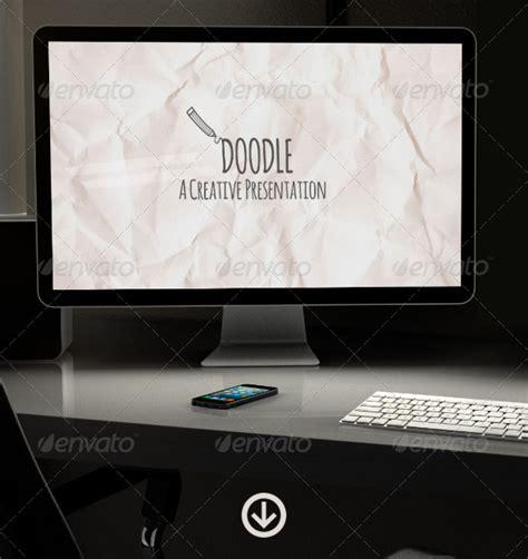 doodle presentations background powerpoint blackboard doodle 187 tinkytyler org