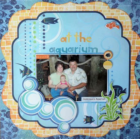 scrapbook layout aquarium 24 best images about aquarium on pinterest nancy dell