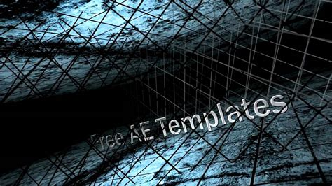 templates for after effects cs4 free templates after effects cs4 and cs5 quot 3d camera quot youtube