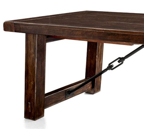 Benchwright Extending Dining Table by Benchwright Extending Dining Table Pottery Barn