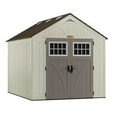 10x10 Shed Home Depot by Suncast Tremont 8 Ft 4 1 2 In X 10 Ft 2 1 4 In Resin