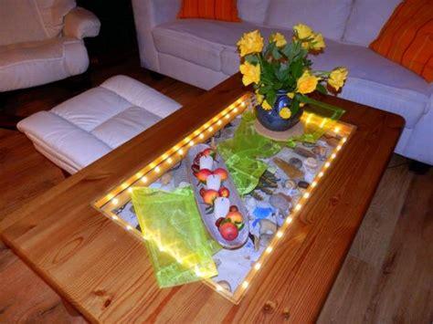 glasplatte beleuchten glastisch beleuchten frag mutti