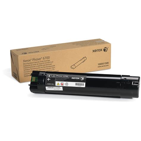 Toner Xerox xerox phaser 6700 black toner 106r01506 b h photo