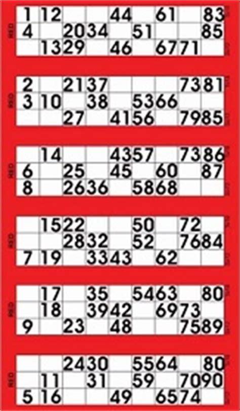 Printable Bingo Tickets Uk | bingo tickets