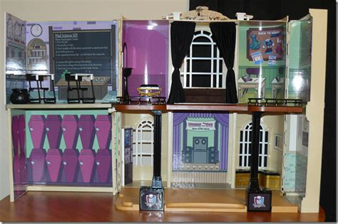 make your own monster high doll house inside the barbie craft room
