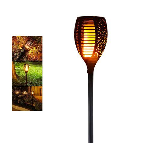 Flicker Light Bulbs Outdoor Solar Led Ls Waterproof Flicker Effect Torch Lights Indoor Led Light