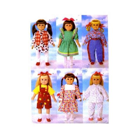 picture sewing pinterest patterns and dolls 18 inch doll wardrobe butterick 5295 sewing pattern