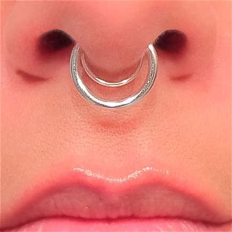 Handmade Septum Rings - septimus prime beleaf jewelry gold from beleafjewelry on