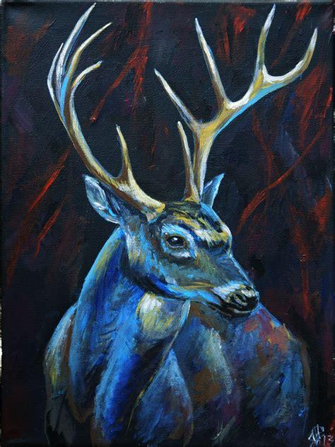paint nite deer deer deer light and other joys