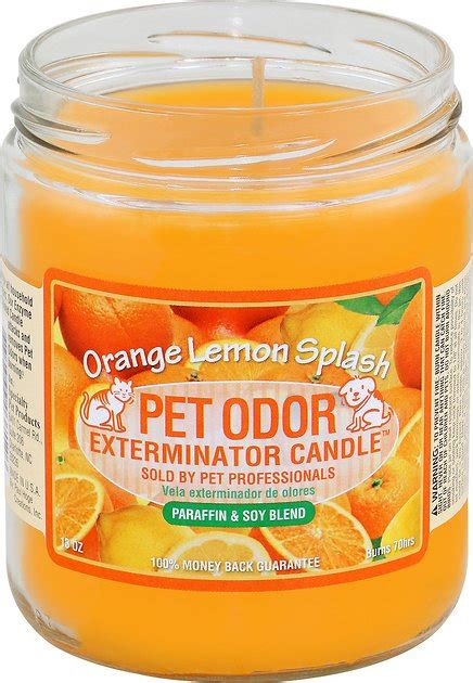 pet odor exterminator orange lemon splash deodorizing