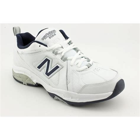 overstock athletic shoes new balance s mx608v3 leather athletic shoe