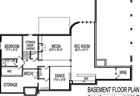 2 bedroom house plans with basement house style and plans