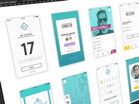 iphone device layout social app design process by ramotion the best iphone