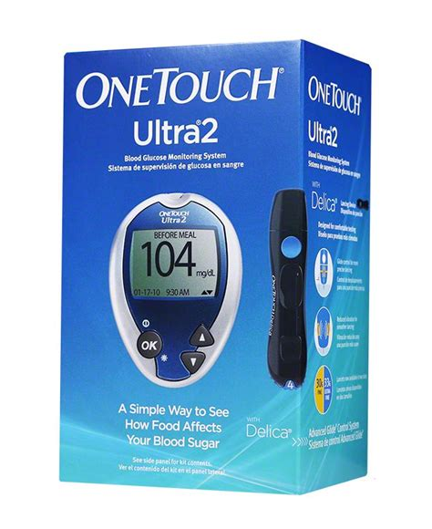 One Touch Glucose Meter onetouch ultra2 diabetes meter only glucose meter
