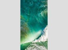 iOS10 sea wave blue | wallpaper.sc iPhone6sPlus White Iphone 5 Case