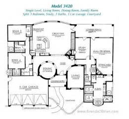 great room floor plans pusch ridge vistas ii floor plan model 3420