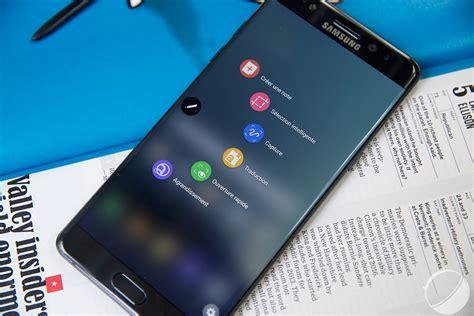 Samsung Note 7 5 Actualit 233 S Qui Ont Marqu 233 La Semaine Galaxy Note 7