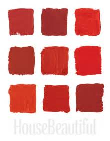 the top shades of red paint by the most famous designers