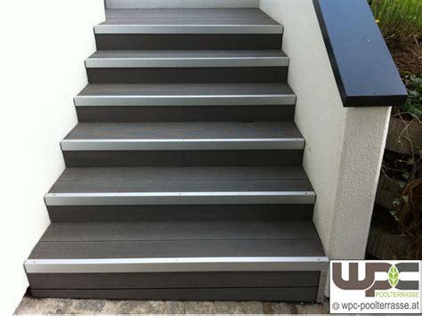 fensterbank außen alu weiß treppe dekor terrasse