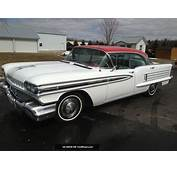 1958 Olds 88 58 Oldmobile Eighty Eight