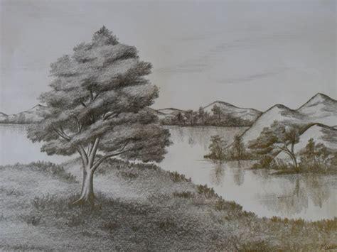dibujos realistas lápiz dibujo de paisaje natural 243 realista de la imaginaci 211 n al