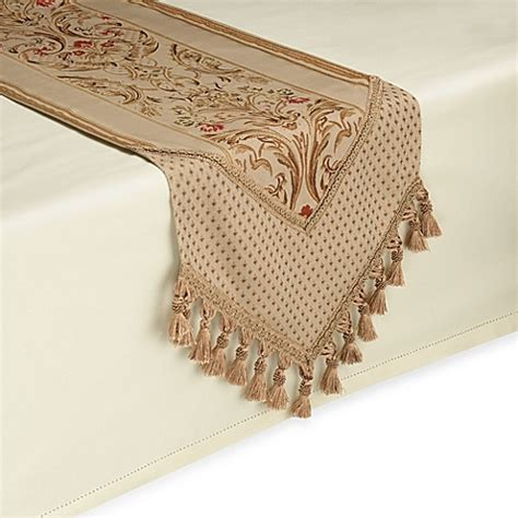 Table Runner by Buy Claudio 90 Inch Table Runner In Gold From Bed Bath