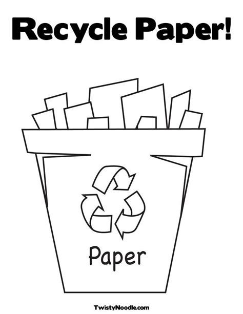 coloring pages for recycling recycling coloring page april lesson plans