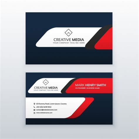 business card templates cdr format business cards in cdr format gallery card design and