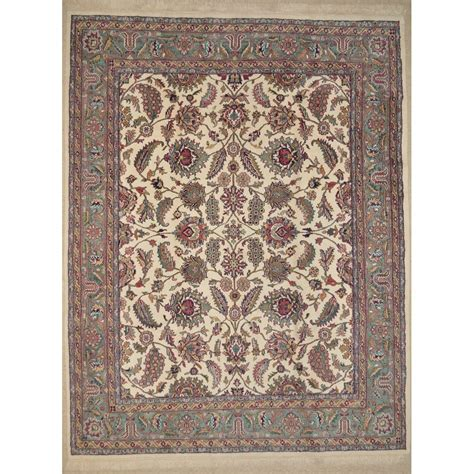 7 x 9 rug size 7 9 quot x 9 9 quot isfahan wool rug from india