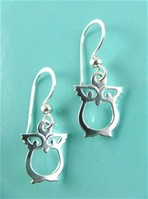 Boma Sterling Silver Owl Earrings sterling silver owl earrings sterling silver owl earrings