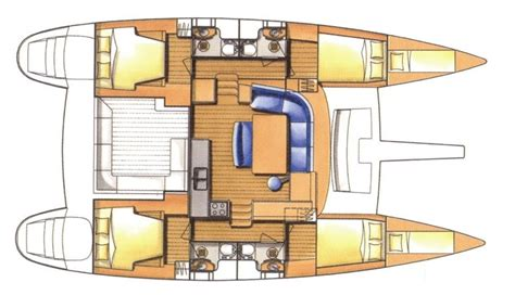 catamaran floor plan lagoon 440 catamaran lagoon440 layout luxury yacht
