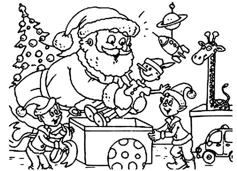 coloring pictures of christmas stuff christmas coloring page santa coloring home
