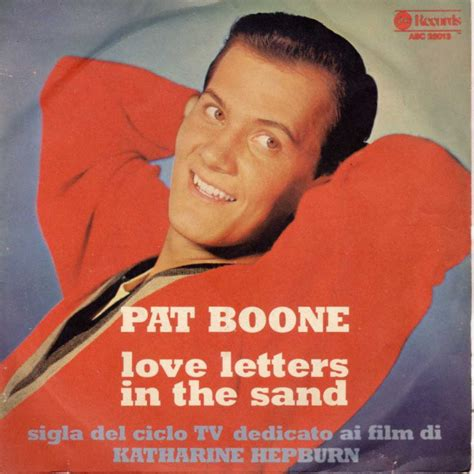 Letter In The Sand Pat Boone Lyrics Pat Boone Letters In The Sand Vinyl At Discogs