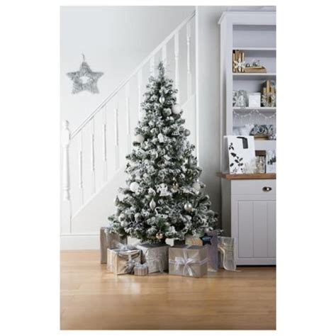 buy alaskan flocked 6ft christmas tree tesco from our