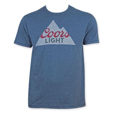 coors light t shirt amazon coors banquet blue mountain logo tee shirt